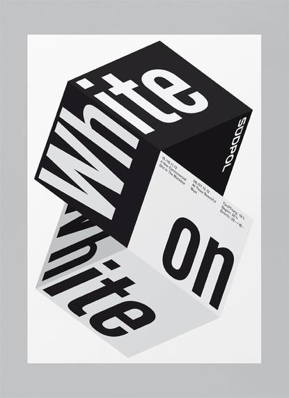 Black And White Poster Design 112